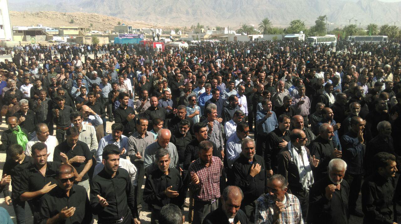 نوای مرگ بر آل سعود در عاشورای گچساران طنین انداز شد