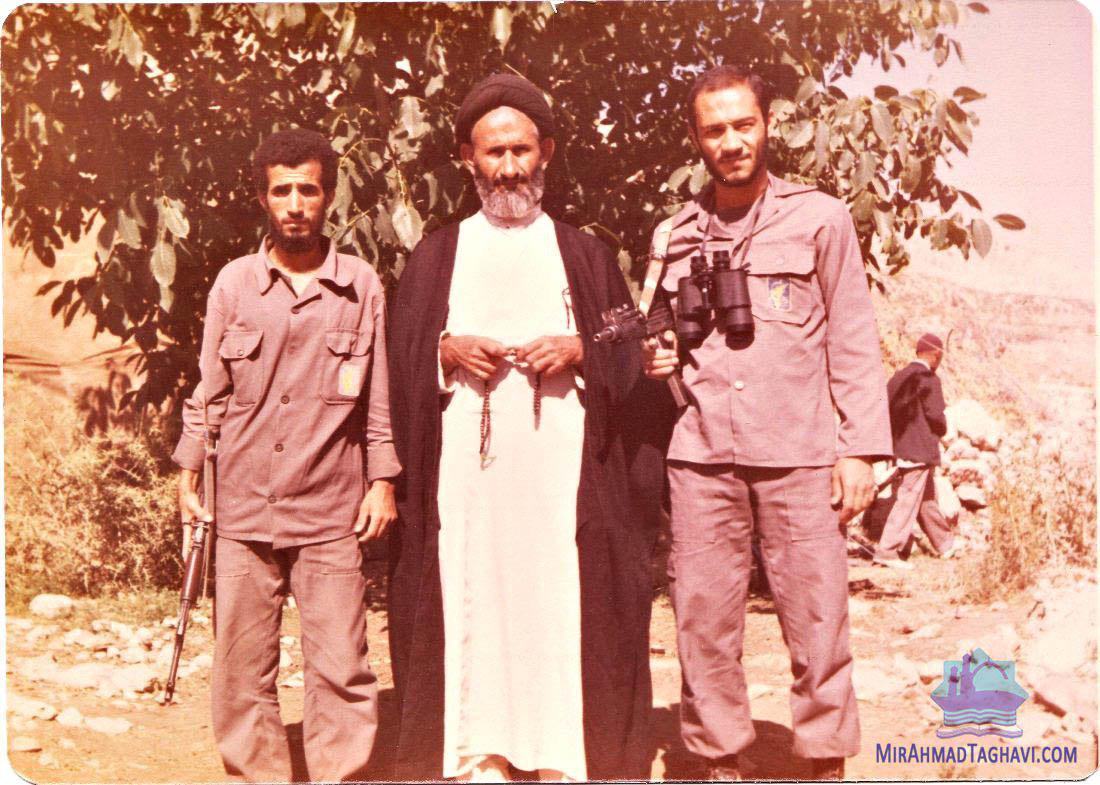 ماجرای ترور آمیر احمد تقوی / عدل هاشمی و بادیگاردی + تصاویر