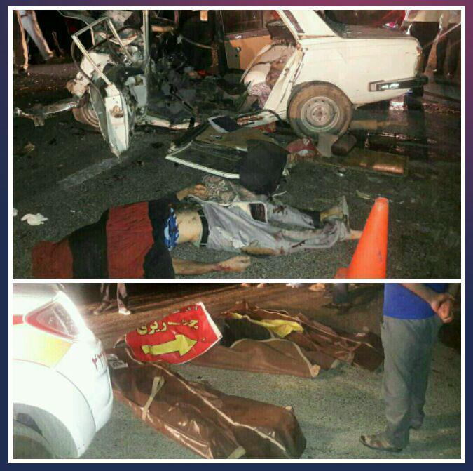 پنج کشته و زخمی در تصادف محور اقلید - یاسوج