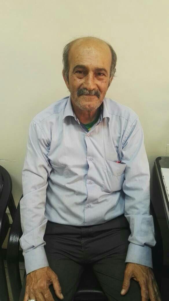 مرد گچسارانی که تا زنده است در سالگرد پورحیدری برسر مزارش می رود + تصویر