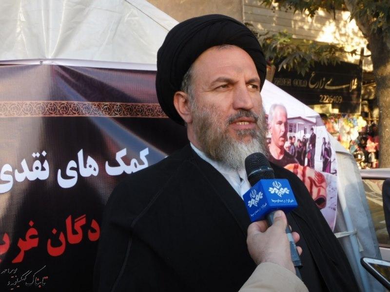 پیام آیت الله ملک حسینی برای مردم استان : کمک ، کمک و کمک + تصاویر