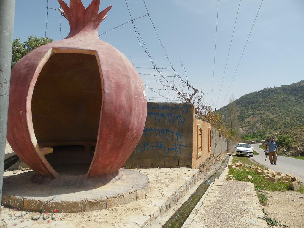 تصاویری زیبا از کوچه باغ های یک روستا / اشراف استاندار بر پتانسیل هایی مغفول برای بوم گردی