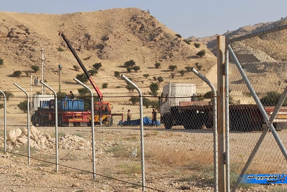 تجهیزات پروژه اولویت دار کهگیلویه به تهران منتقل شد! / نماینده کهگیلویه و فرماندار توضیح دهند + فیلم